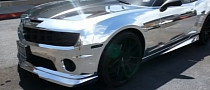Slim Thug Chrome Chevy Camaro Convertible [Video]
