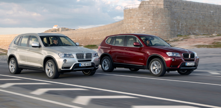 Slow BMW F25 X3 Sales Due to Plant Limitations