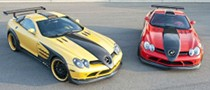 SLR Red and Yellow Edition by Hamann