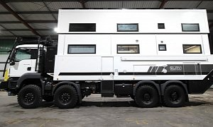 SLRV Commander 8x8 Is the King of Luxury Campers – And It's a Duplex