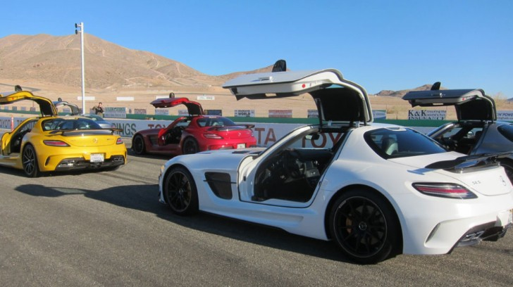 SLS AMG Black Series Gets Track Tested by Jalopnik