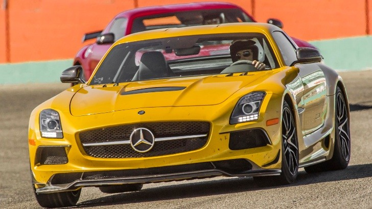 SLS AMG Black Series Track Tested by Cars Guide