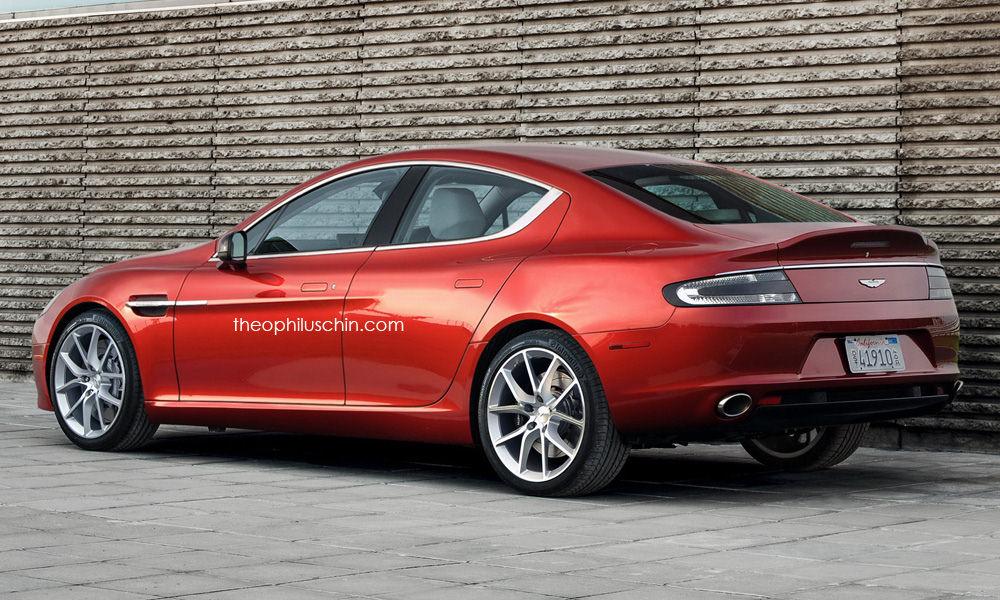 Small Aston Martin Sedan Rendered Looks Like A Smaller Rapide To - Aston martin sedan