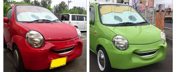 Small Suzukis Get Quot Smile Bumper Quot With Lightning Mcqueen S