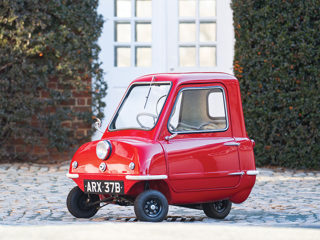 Smallest Car in the World Fetches $176,000 at Auction ...
