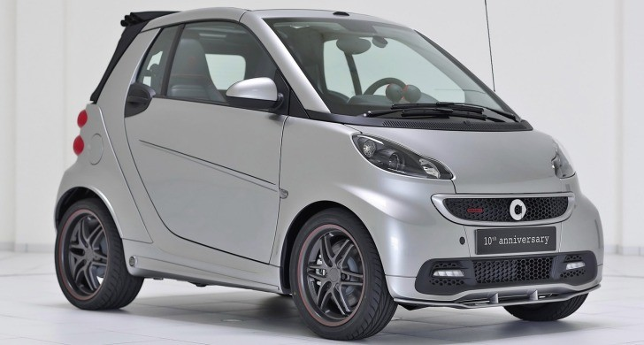 smart fortwo Brabus 10th anniversary Unveiled [Photo Gallery]