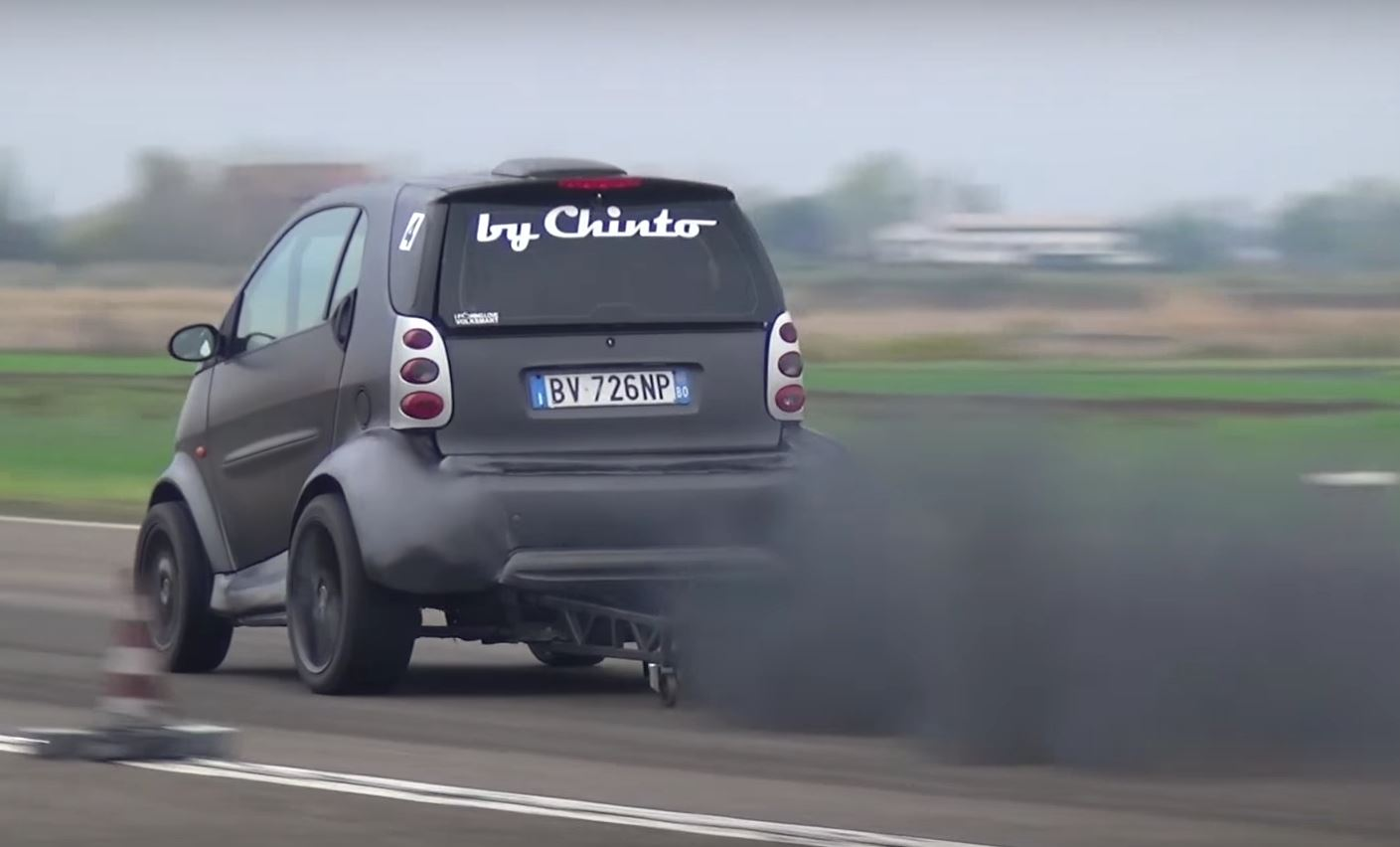 smart fortwo Dragster Has 1 9 TDI Engine Swap and 230 HP - autoevolution