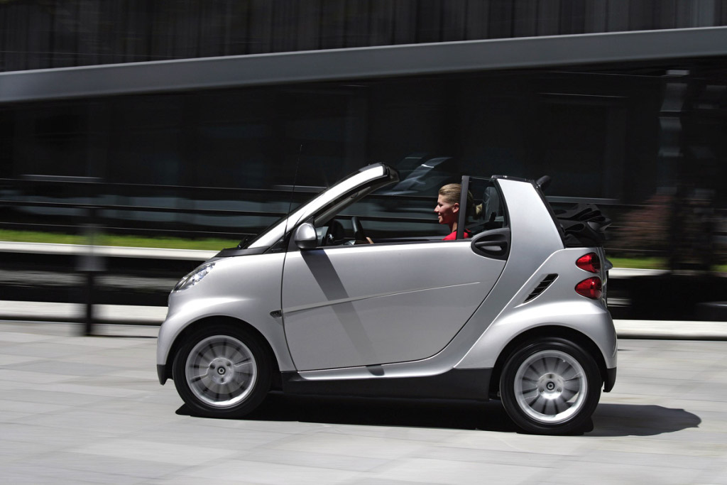 Smart Fortwo Leads The Two Seater Cars Cl