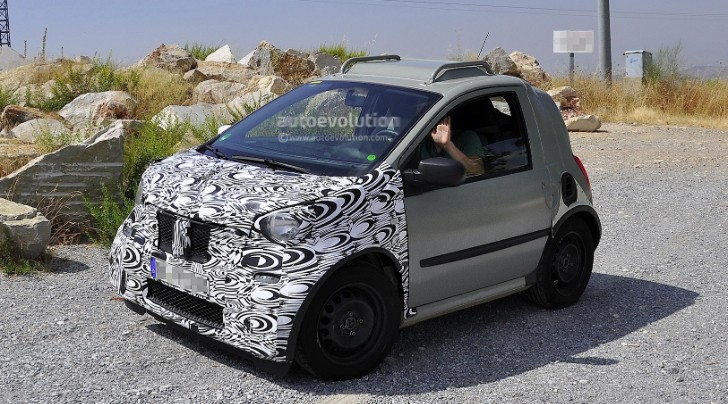 smart fortwo Mule Testing in Spain [Photo Gallery]