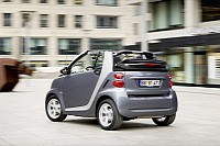 The smart fortwo pearlgrey
