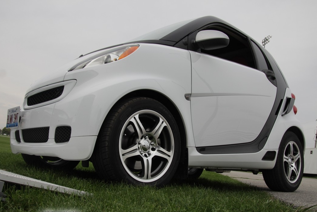 Smart Fortwo With A Supercharged Toyota Tercel Engine