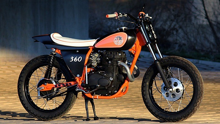 Smooth 1974 Honda CL360 by Josh Mott