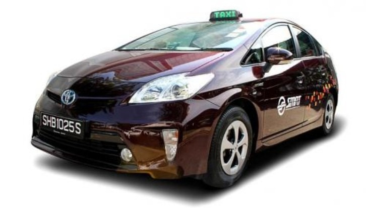 SMRT Singapore Adds 600 New Toyota Prius to Fleet