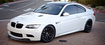 Snow White BMW M3 by Mode Carbon