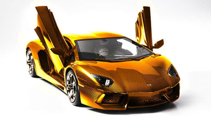 solid gold lamborghini worth 7 5m previewed in dubai autoevolution. Black Bedroom Furniture Sets. Home Design Ideas
