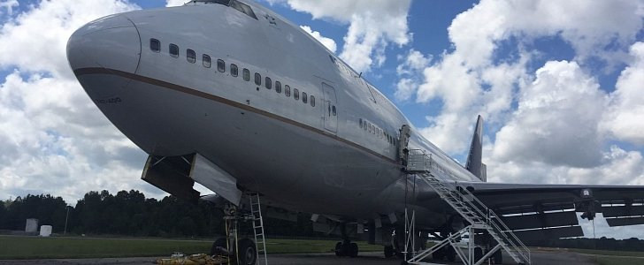 Some Lucky Rich Bastard Will Call This Grounded Boeing 747 Home Sweet Home