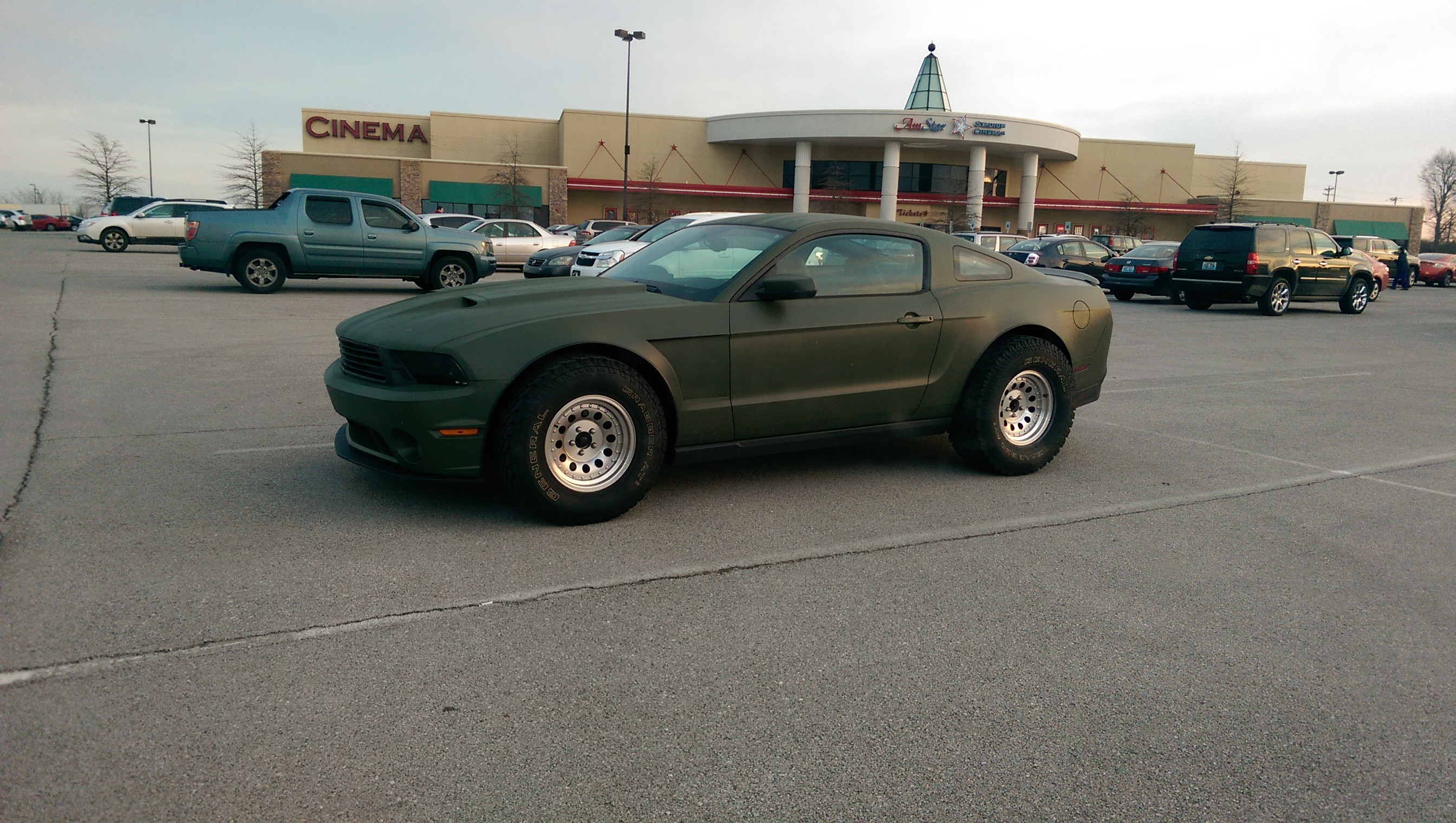 Somebody Wanted a Truck and a Mustang and Couldn\'t Make Up His Mind ...