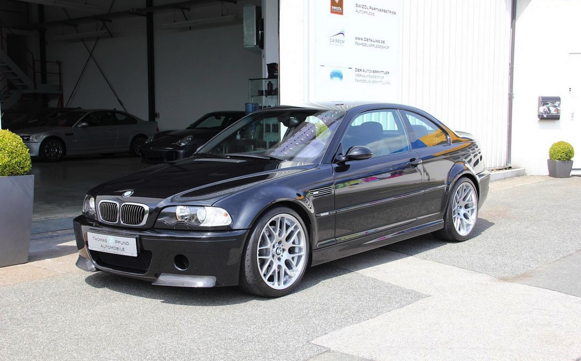 Somebody S Selling A 2003 Bmw M3 Csl But You Won T Like The Price
