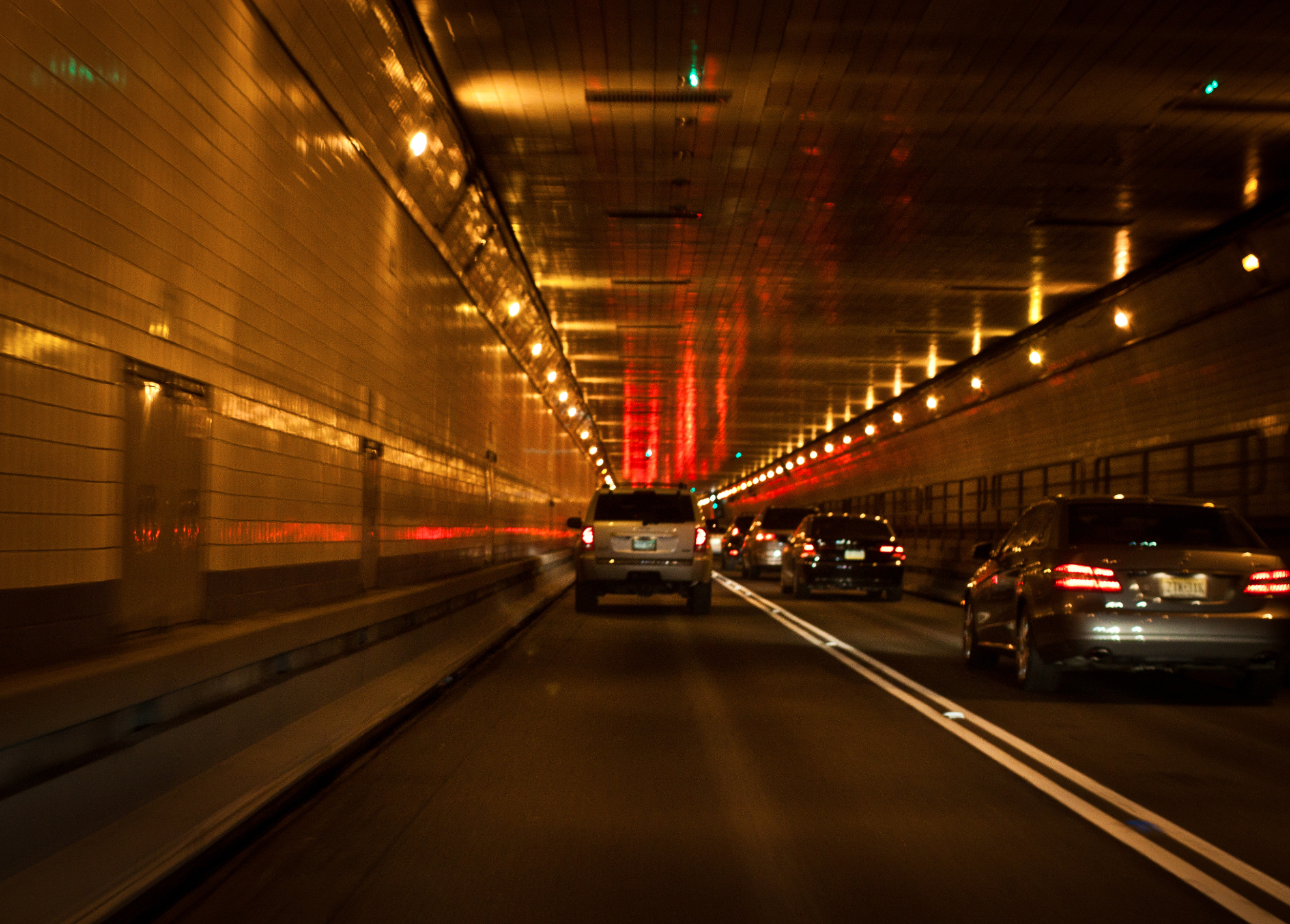 Someone Drove Into Oncoming Traffic In Lincoln Tunnel