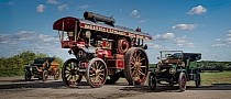 Someone Paid $1.1 Million for This Steam-Powered 1932 Fowler Road Locomotive