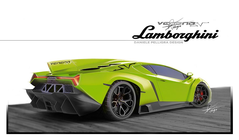 Someone Rendered A Lamborghini Veneno Superveloce We
