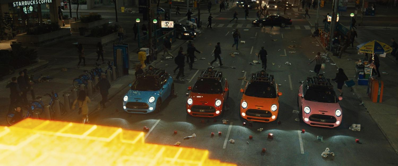 Cooper Auto Sales >> Sony Pictures' New Pixels Movie Has Four MINI Cooper S ...