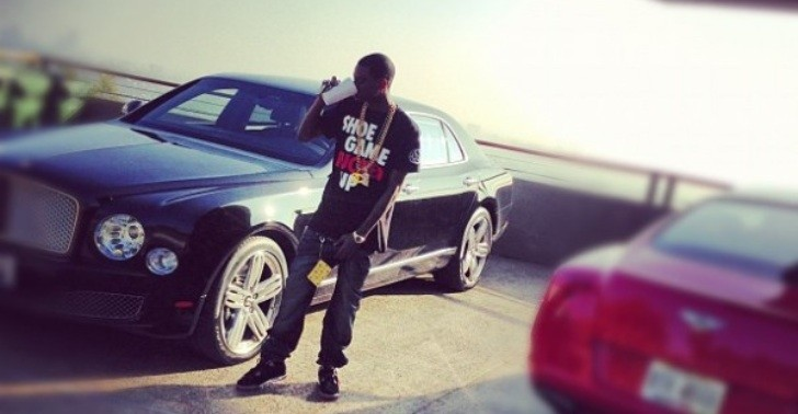 Soulja Boy Buys Bentley Mulsanne