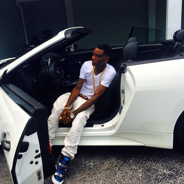Soulja Boy Drives A Rental Maserati Out Of Cash