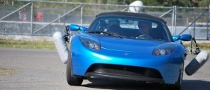 Sound of Tesla Roadster Captured by Microsoft