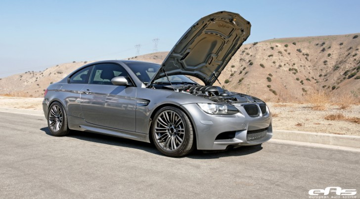 Space Gray BMW E92 M3 Gets VT2-625 Supercharger at EAS [Photo Gallery]