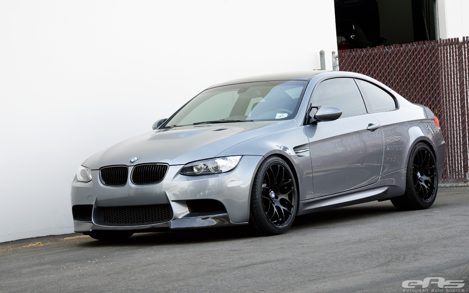 Automotive Reflectors: Space Gray M3 Gets Satin Black V710 Wheels At EAS