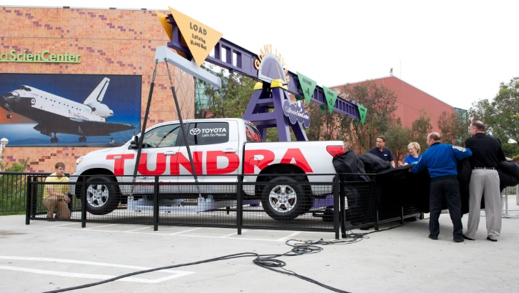 Space Shuttle Hauler Toyota Tundra Becomes Museum Piece Autoevolution