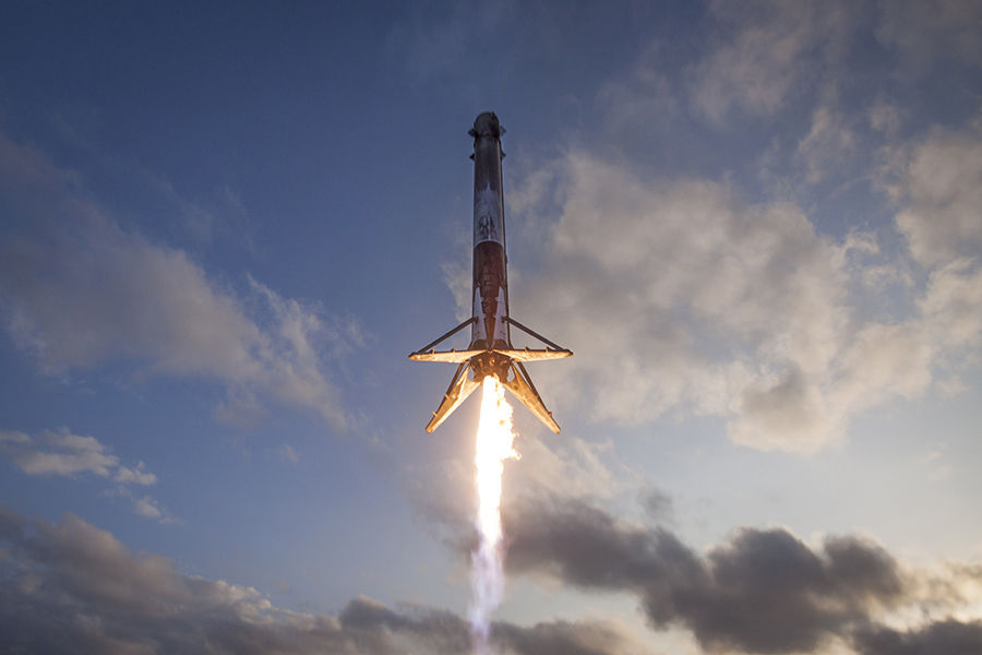 Elon Musk's SpaceX launches 60 satellites for space-based internet network