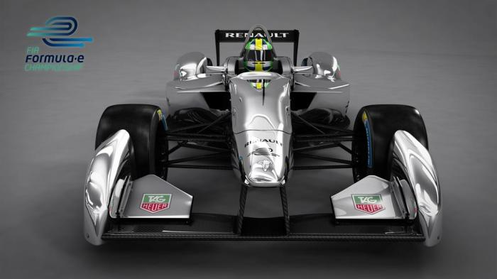 Spark-Renault Formula E Race Car to Debut at Frankfurt