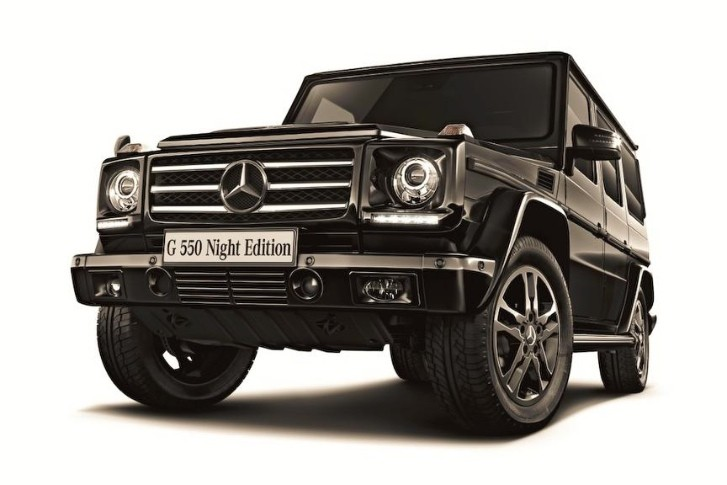 Special Edition Mercedes G550 Only for Japan