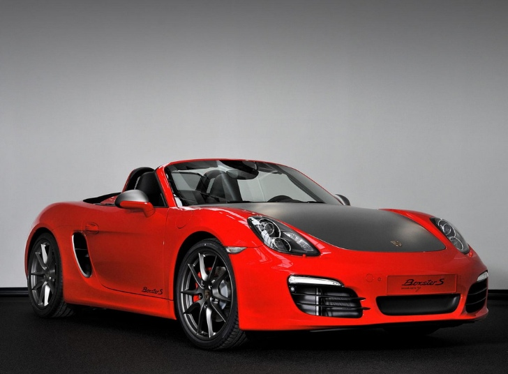 Special Porsche Boxster S Red 7 For Netherlands