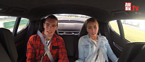 Speed Dating in a Porsche Panamera on Track [Video]