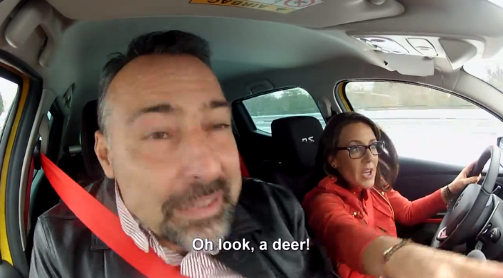 Speed Dating With a Renault Clio RS [Video]