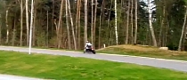 Speeding CBR600 Rider Crashes Silly into Some Trees [Video]
