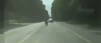 Speeding Idiot Crashes Hard [Video]