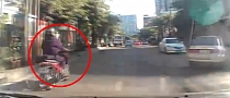Speeding, Unlucky Thai Rider Involved in Nasty Crash [Video]