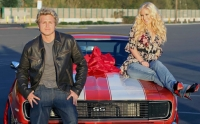 The trio: Spencer Pratt, Heidi Montag and the '68 Camaro