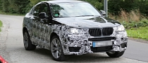 Spyshots: BMW X4 Caught Testing on the Nurburgring