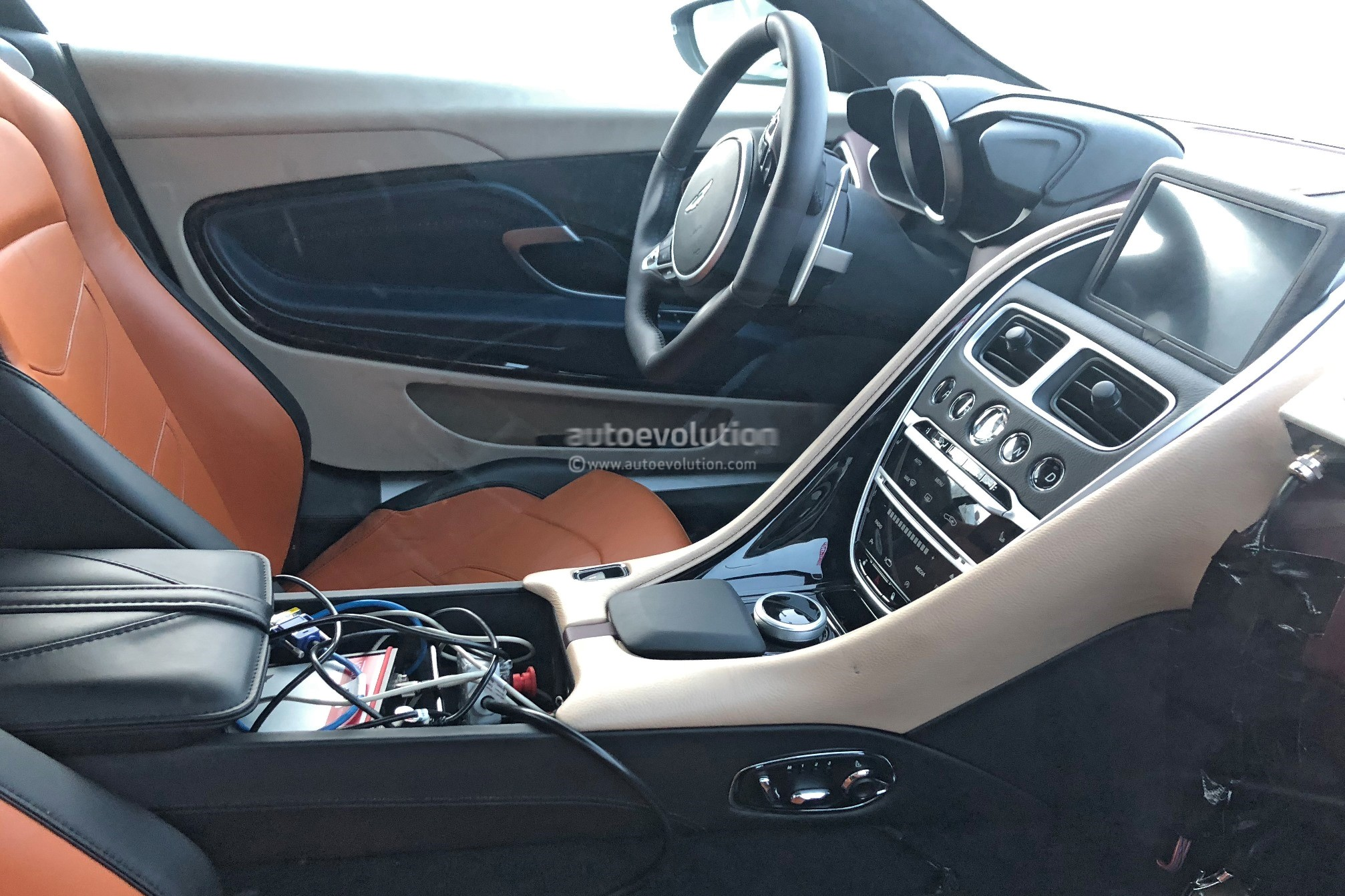 Aston Martin Vantage 2019 >> Spyshots: 2019 Aston Martin DBS Superleggera Shows Different Interior - autoevolution