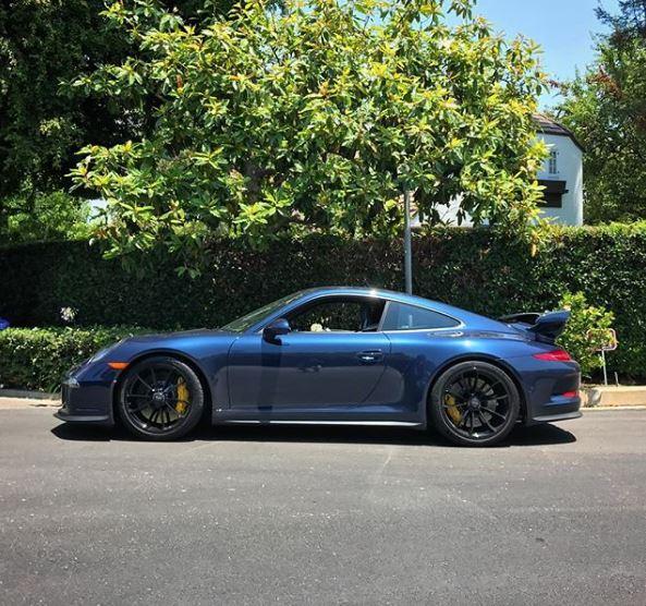 Spike Feresten S Dark Blue Metallic Porsche 911 Gt3 Is Understated