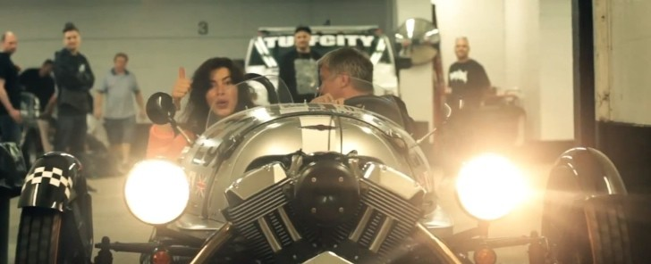 Spirit of the Gumball 2013 Official Trailer: Morgan 3-Wheeler Adventure [Video]