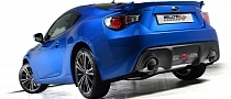 Sports Exhaust for GT 86, BRZ, FR-S Announced by Milltek