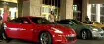 Sports Illustrated Models Have Wild Ride with Nissan 370z