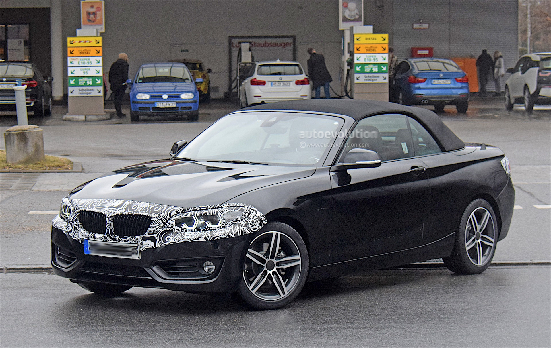 BMW Series Convertible Spied Testing With Light Camo - Bmw 2 series release date