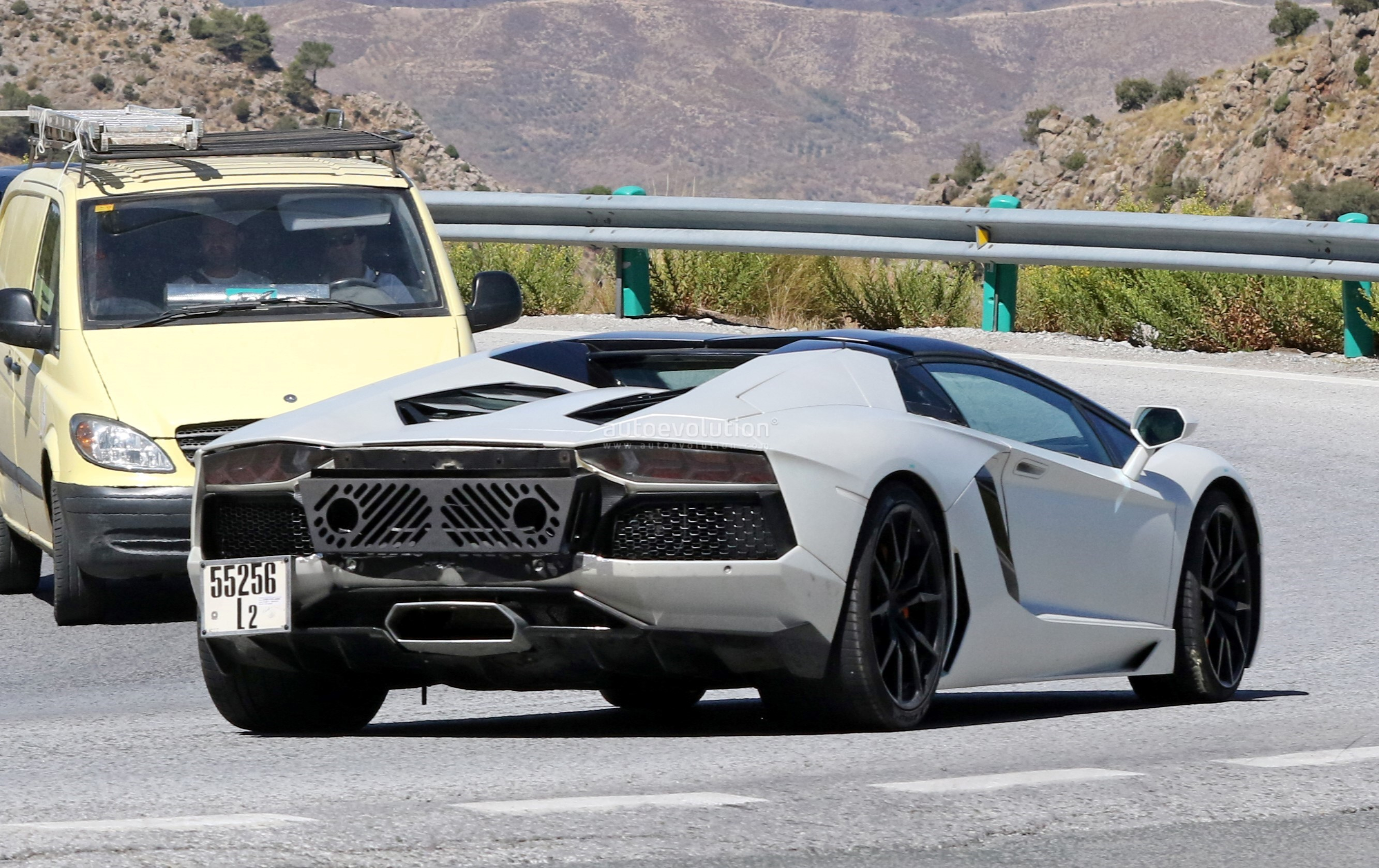 Spied New Lamborghini Aventador Variant Incoming Could Be The
